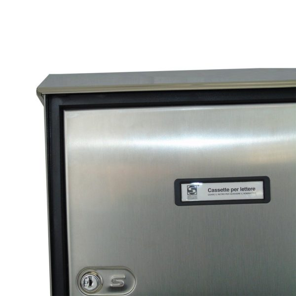 Moda Italiana S90 High Quality Stainless Steel Close Letterbox