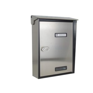 Moda Italiana S90 High Quality Stainless Steel Front Letterbox