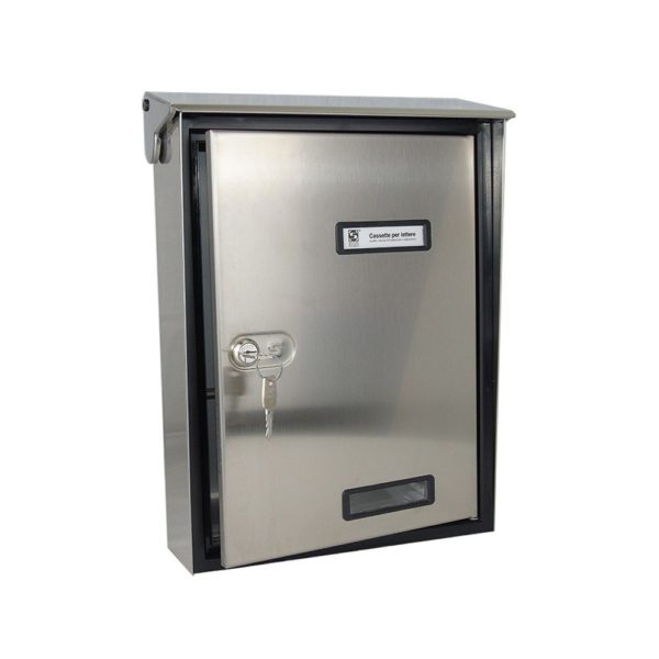Moda Italiana S90 High Quality Stainless Steel Open Letterbox