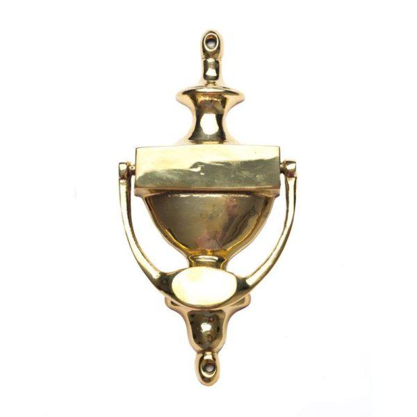 Polished brass Handle-Door Knocker