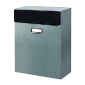 Rear Access Stainless Steel Letterbox Magnum