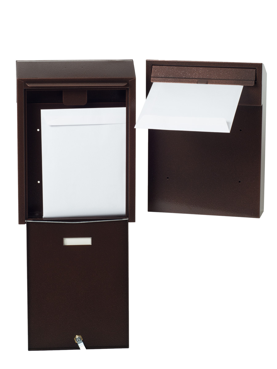 Rear Access Letter Box.Rear Access Letterbox
