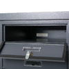 Rear access letterboxes for flats