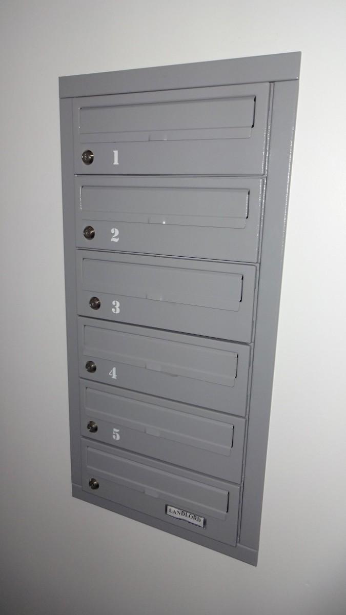 Urban Easy E2 Communal Letter Boxes Internal Recess