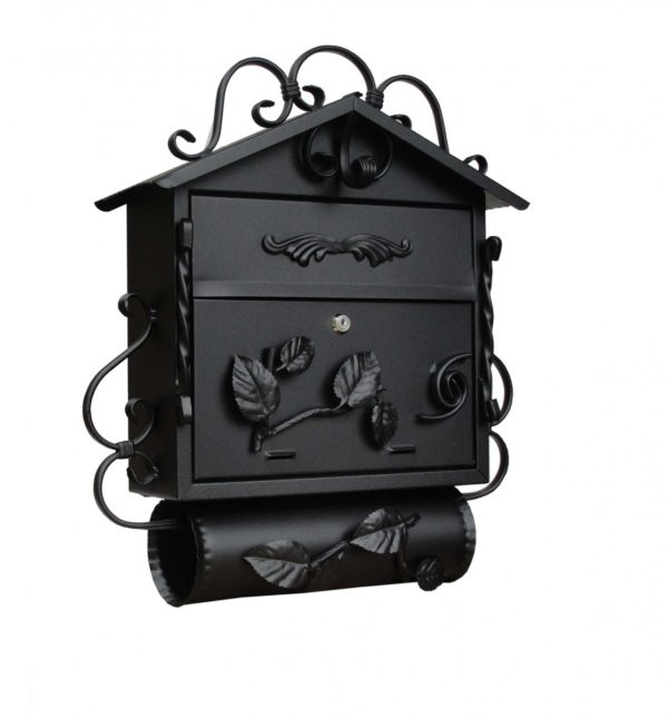 SD3TO Wall Mounted Post Box Black product page