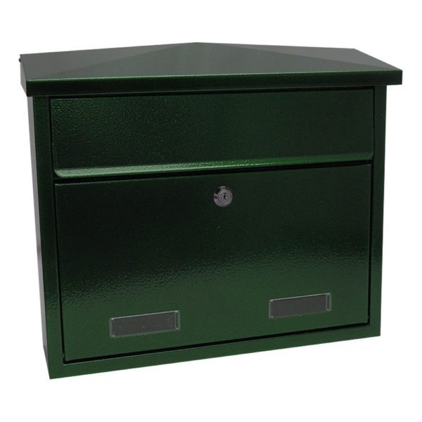 SD3 Large exterior wall mounted post box SD5 Large wall mounted exterior letterbox Antique Green