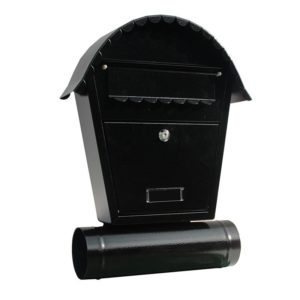 SO2T Outdoor letterbox with newspaper holder