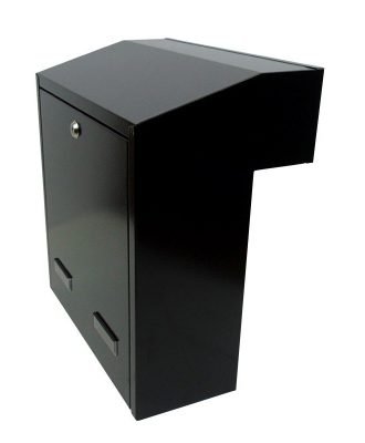 W3-4 Gate mounted rear access letterbox