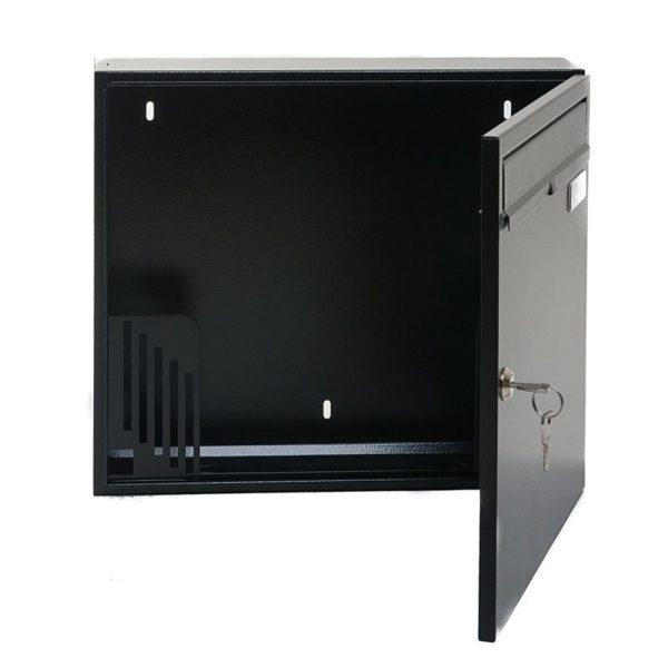 W4 Wall mounted external letterbox - open