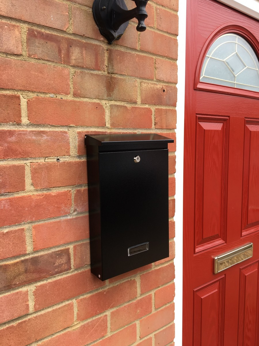 Sdg1 Wall Mounted Post Box Powder Coated Individual