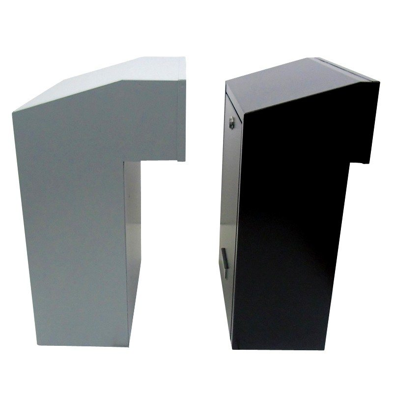 Rear Access Letter Box.Details About W3 2 Gate Post Box With Rear Access