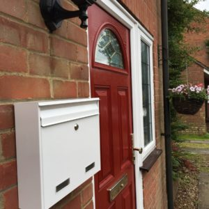 W2 External Wall Mounted Post Box external letterbox