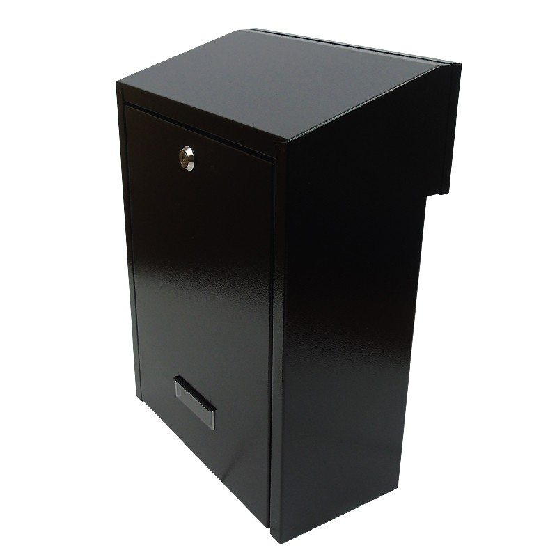 w3-1 rear retrieval gate mounted letterbox