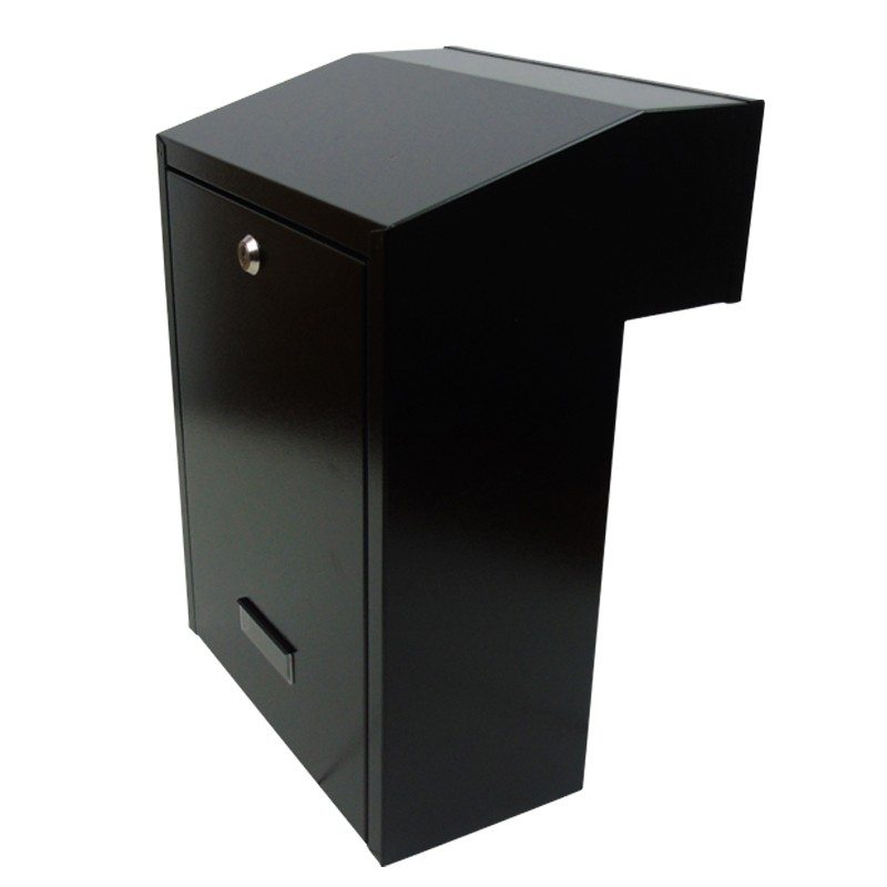 w3-2 fence mounted rear access post box